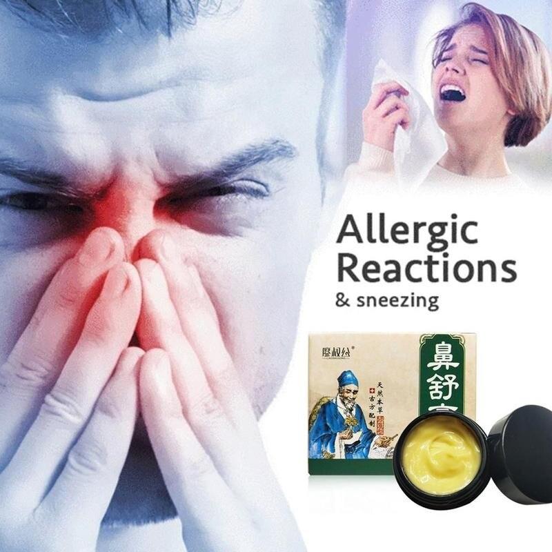 20ml Creme Pomada para Evitar A Obstrução Nasal Sinusite Crônica Rinite Alérgica Rinite Alérgica Neti Espirros de Gesso