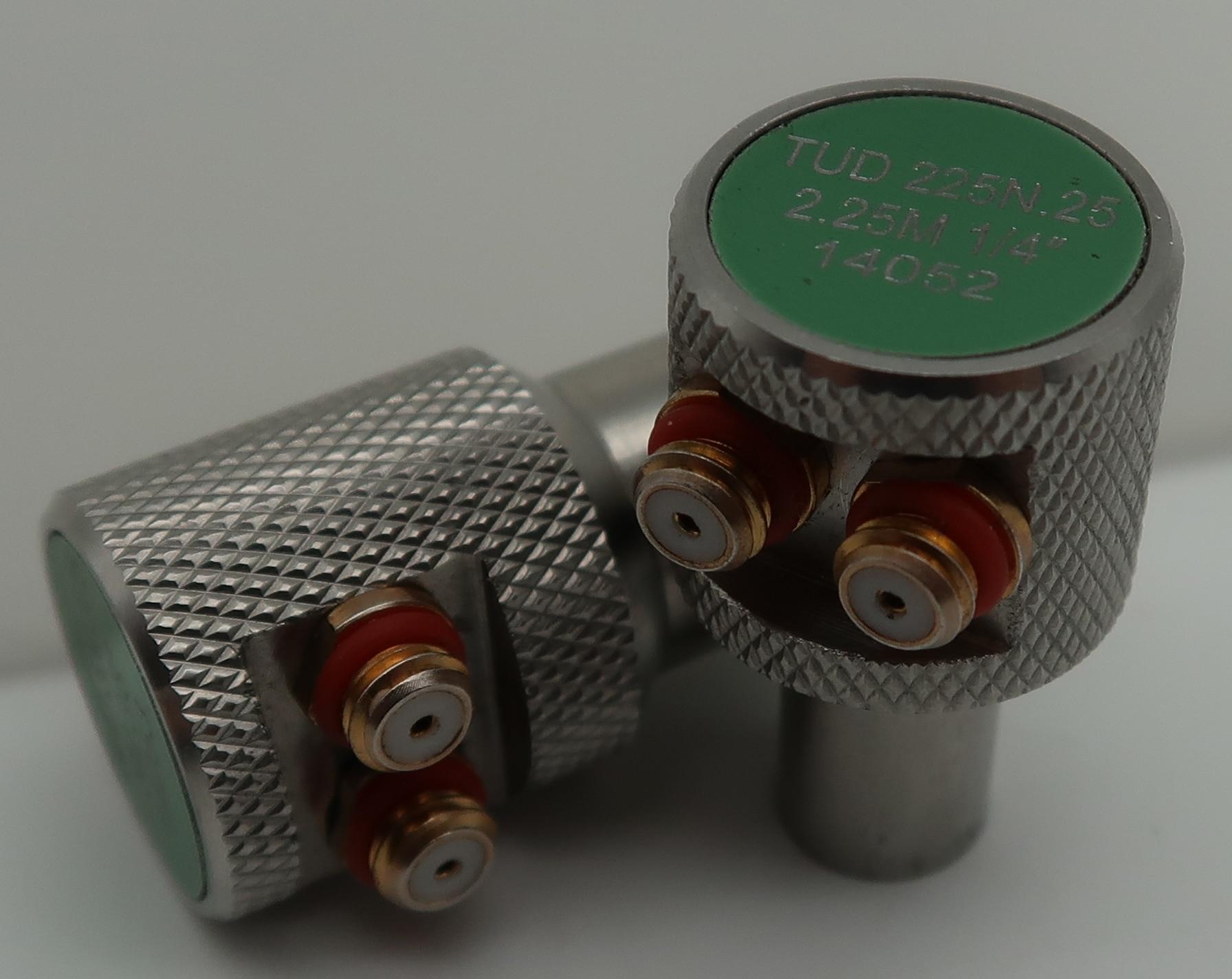 TUD5N.5 مسبار اتصال مزدوج 5 ميجاهرتز 1/2 بوصة عمق التركيز 0.5 بوصة