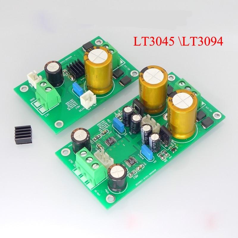 LT3045  LT3094 presión positiva y negativa bajo ruido fuente de alimentación lineal regulada pulido DAC preetapa Amp