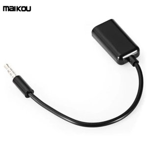 Maikou 3.5mm Audio Cable AUX Stereo Splitter 3.5mm Male to 2 Port 3.5mm Female for Earphone Headset Splitter Adapter