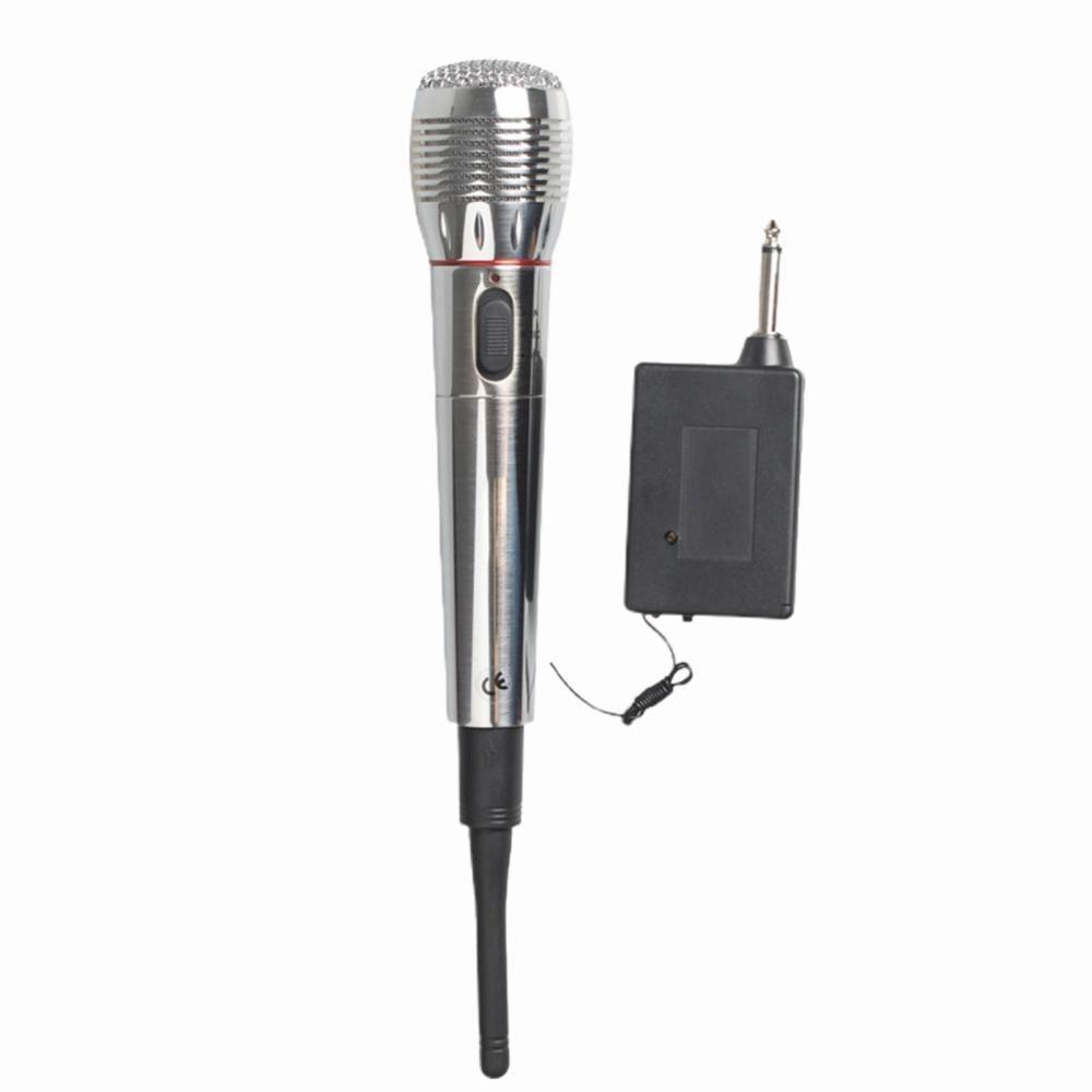 Micrófono de Metal dinámico de mano con cable/inalámbrico para cantar/boda/voz profesional