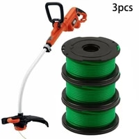 3pcs spool line for black decker gl7033 gl8033 gl9035 strimmer a6482 replacement for home graden supplies grass lawn mower
