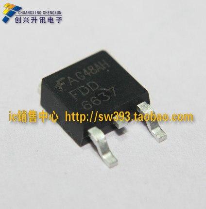 Darmowa dostawa. FDD6637 towary wysokiej jakości importowana rura mos osie sterowane elektrycznie TO-252
