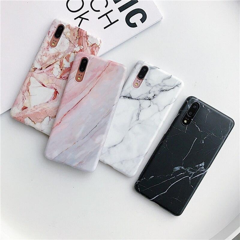 Черный белый мраморный камень чехол для телефона Samsung Galaxy A50 A40 A70 A51 A71 A41 модный силиконовый чехол для iPhone 11 7 8 XR XS SE