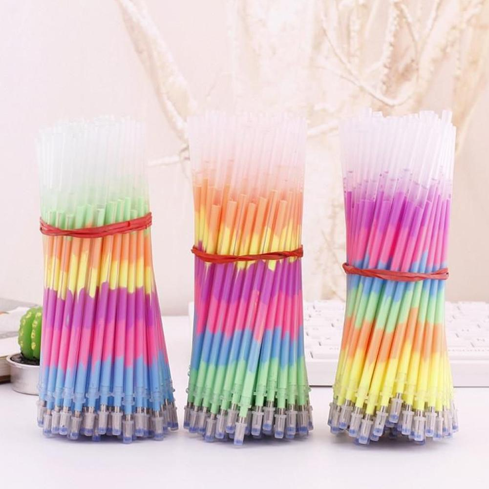 arco-iris-multicolor-recarga-marcadores-boligrafos-de-gel-no-fluorescente-estudiantes-boligrafo-pintura-fugas-graffiti-tinta-refil-t0i0