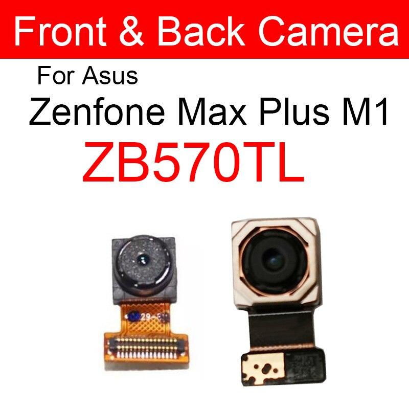 Front & Back Rear Camera Module For Asus ZenFone Max Plus (M1) ZB570TL Main Camera + Samll Facing Camera Replacement Parts