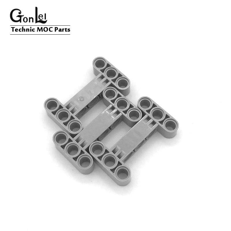10 Teile/los Technik Strahl 3x5 Starke Bausteine Senkrecht Halterung Rahmen Liftarm Spielzeug Kompatibel mit 14720 MOC Ziegel teile