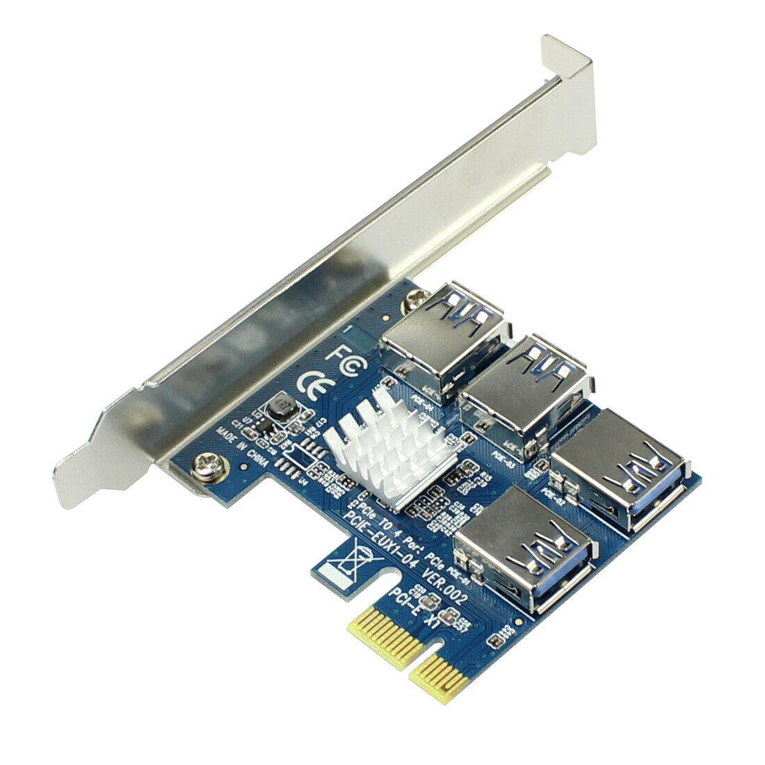 Adaptador PCI-E a PCI-E para minería, convertidor de tarjeta elevadora especial PCIe...