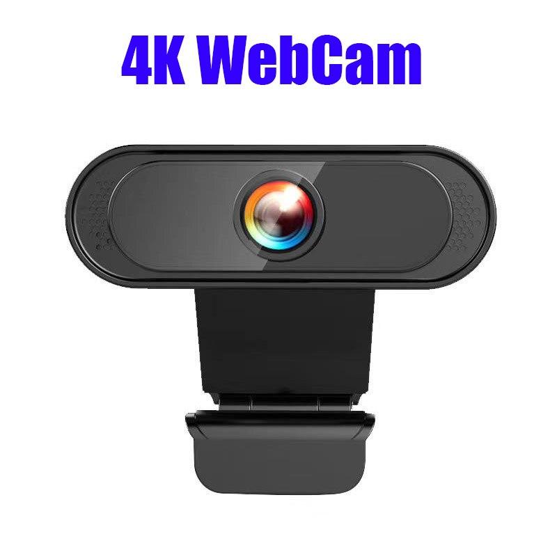 Cámara Web Usb 4K 2K 1080P Full HD, Para ordenador, cámara térmica,...