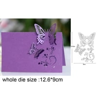 lace pierced butterfly metal cutting die stencil for diy embossing paper photo album cards making scrapbooking dies cut mould