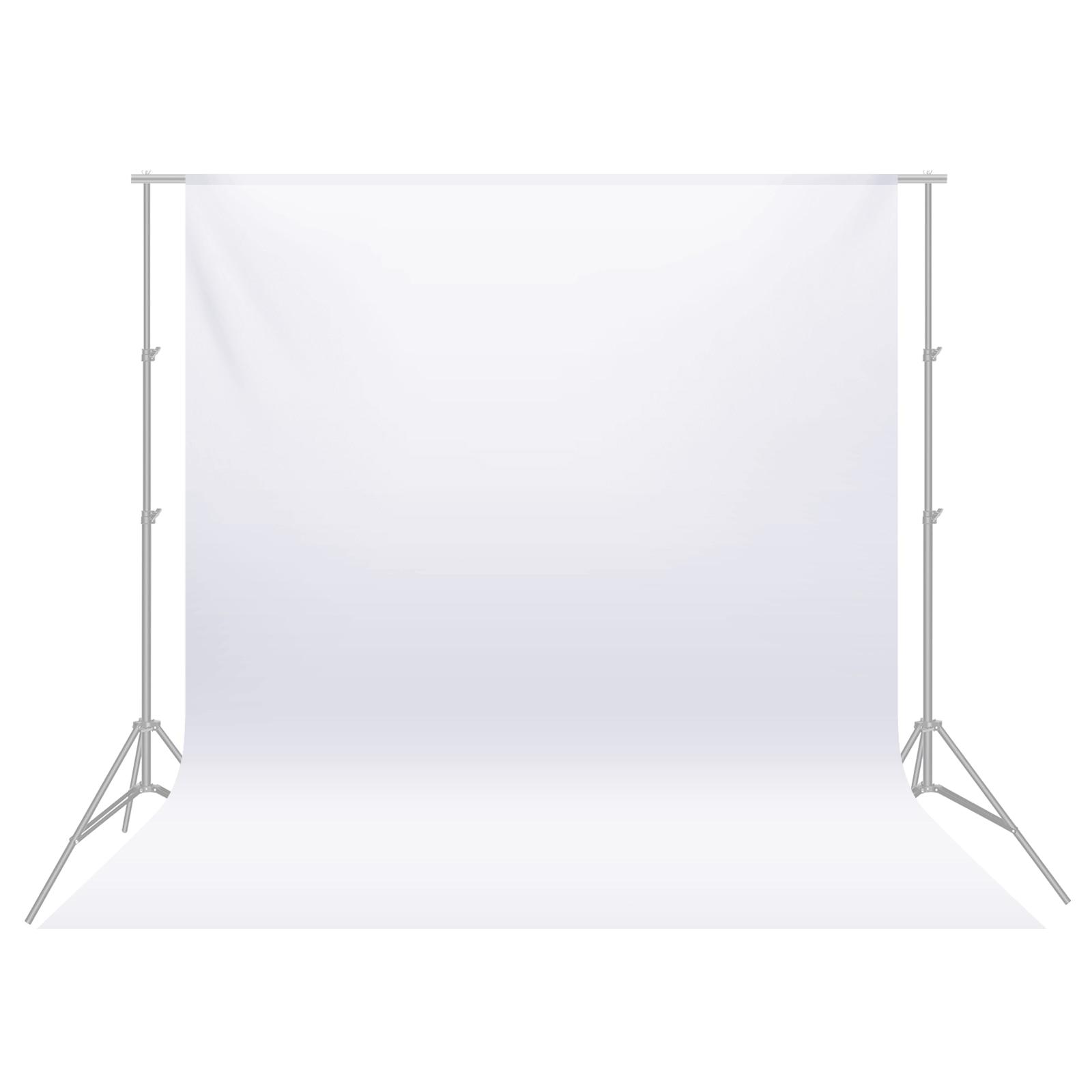 Neewer-خلفيات استوديو صور احترافية 3.6 ، قماش أبيض نقي 3 × 100% متر ، شاشة خلفية قابلة للطي ، للبيع