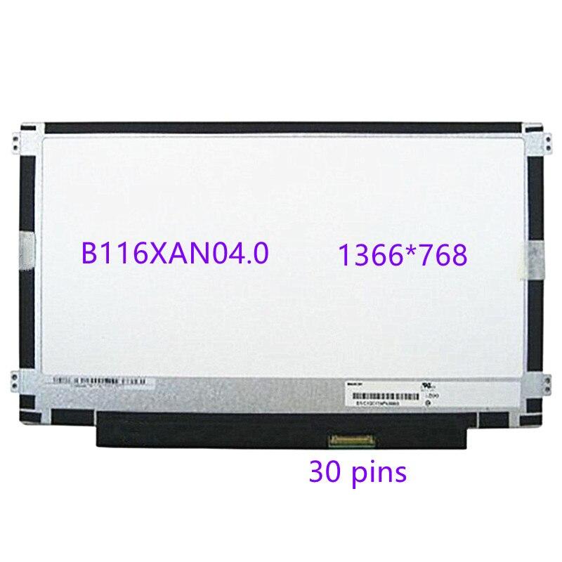 ل HP جناح 11-K120nr 11-K163NR 11-K020NR X360 LTN116AL01-301 B116XAN04.0 غير اللمس محمول LCD شاشة لوحة عرض مصفوفة