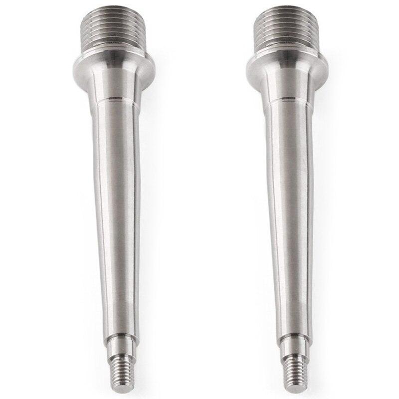 2 uds. Eje de titanio/Ti de 93Mm, pedales de eje de pie con rodamiento, eje de Pedal de titanio, núcleo de Pedal de aleación de titanio