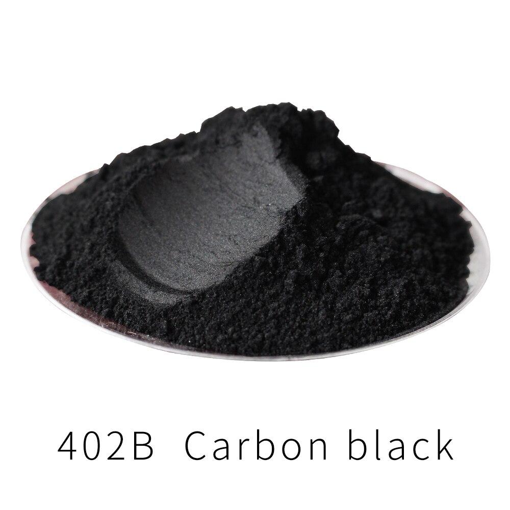 Pearl Powder Pigment Acrylic Paint in Craft Automotive Paint Soap Eye Shadow 500g 402B Carbon Black Paint Mica Powder Pigment недорого