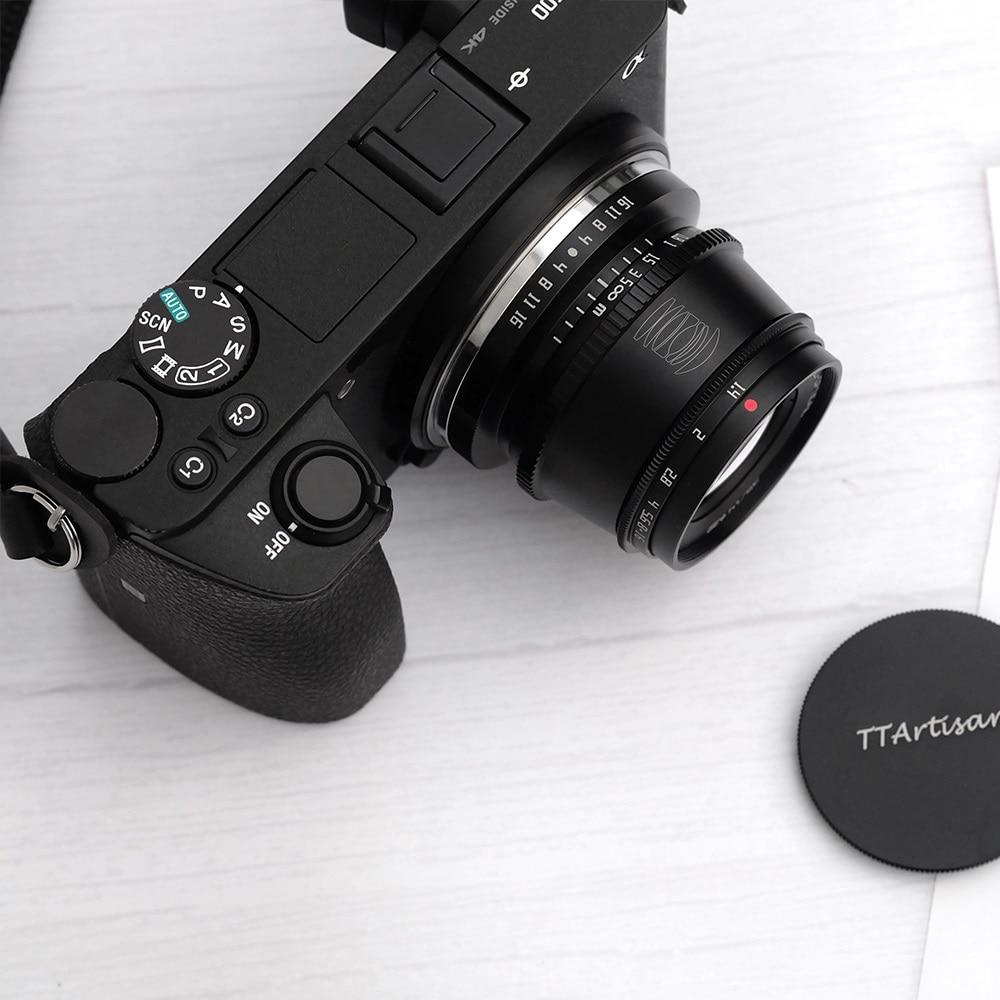 TTartisan 35mm f1.4 APS-C Camera Lens Photography Lens for L Mount Nikon Z Canon EOS-M Sony E Fujifilm X Micro 4/3 Free Shipping enlarge