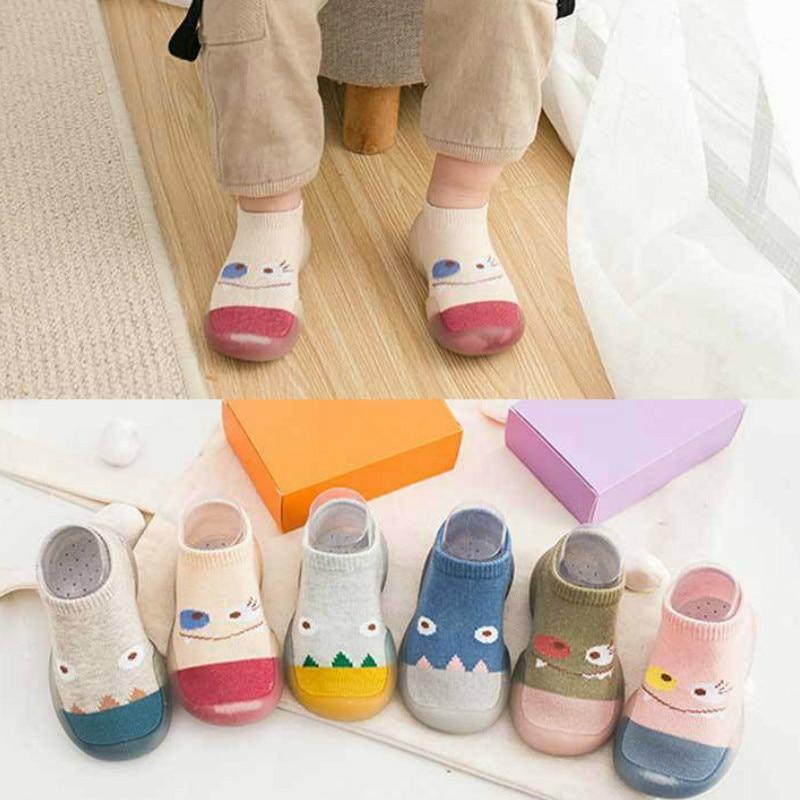 2020 new baby socks shoes non-slip floor boat cartoon toddler soft bottom waterproof