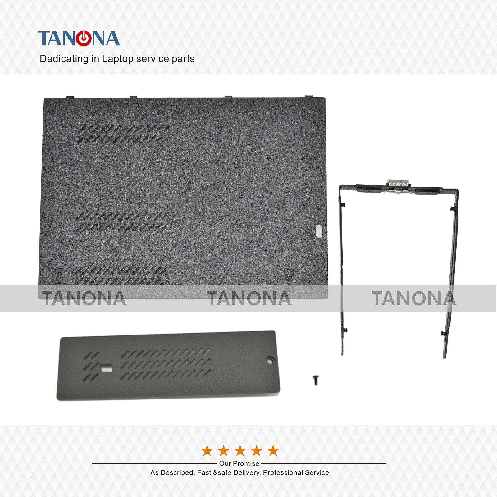Nuevas piezas del mercado de accesorios 04X5513 para Lenovo Thinkpad T540 T540P W540 W541 cubierta de la puerta del conductor HDD + cubierta RAM + soporte