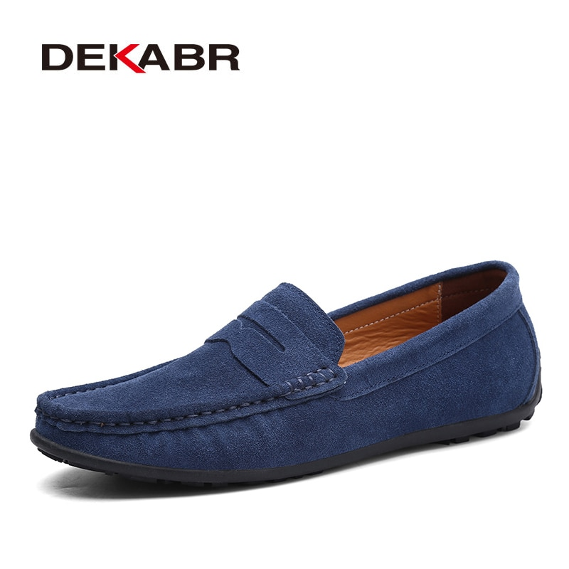 AliExpress - DEKABR Brand Spring Summer Hot Sell Moccasins Men Loafers High Quality Genuine Leather Shoes Men Flats Lightweight Driving Shoes