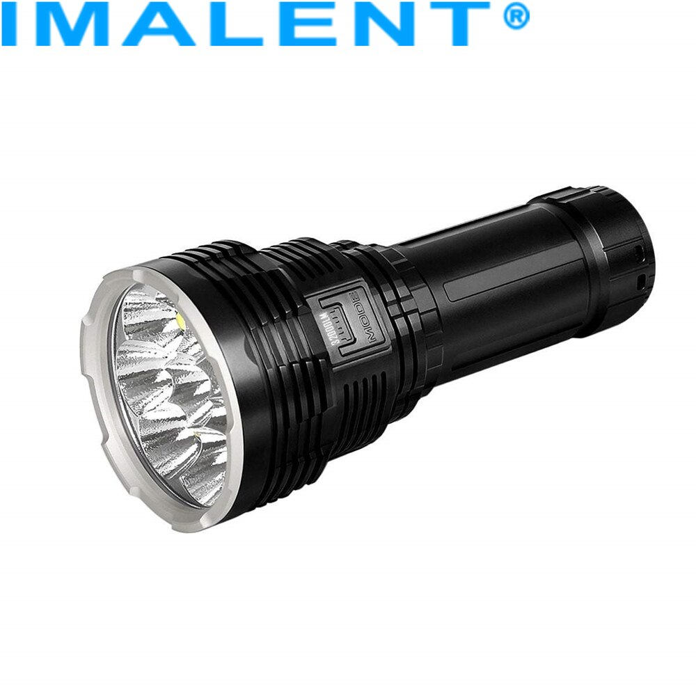 super torch search light imalent dx80 8 cree xhp70 max 32000 lumen beam distance 806 meter led flashlight for hunting IMALENT DX80 Powerful LED Flashlight Lantern Rechargeable Cree Xhp70.2 32000Lumen Ultra Bright Waterproof Flashlight Torch