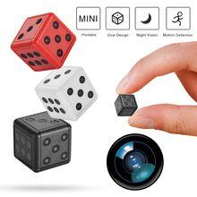 SQ16 HD 1080P Mini Camera Camcorder Dice Micro Camera Infrared Motion Detection DVR Video Voice Reco
