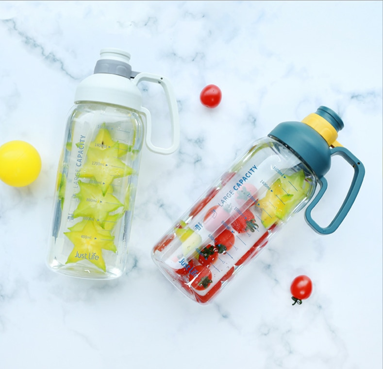 Space Cup Sports Fitness Super Large Water Bottle Large Capacity Outdoor Portable Plastic Water Cup