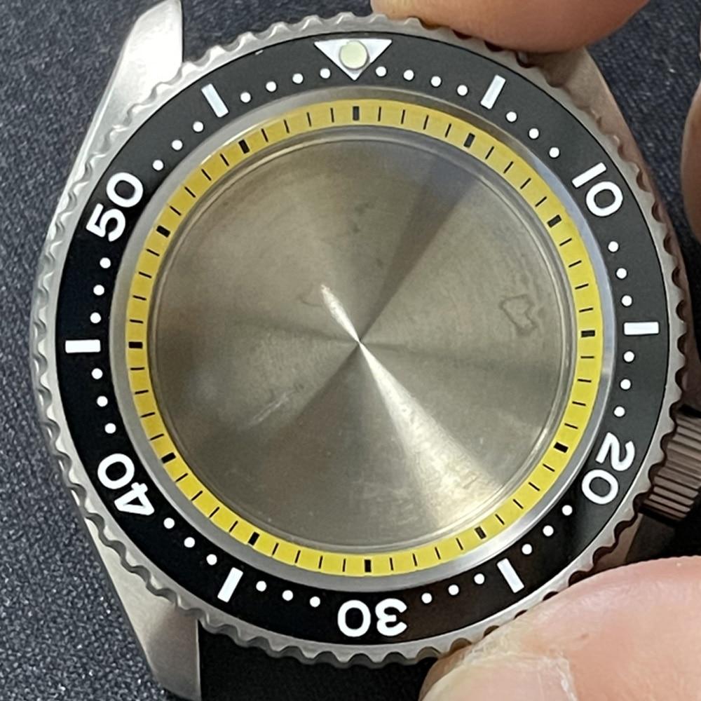 Watch Modify Parts High Quality Titanium SKX007 Watch Case Ceramic Bezel Sapphire Suitable For NH35/36 Automatic Movement