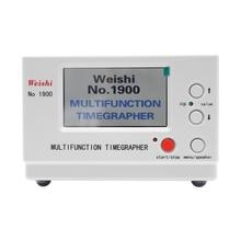 Weishi NO. 1900 Timegrapher Mechanical Watch Timing Tester Machine Multifunction Auto Calibration Ti