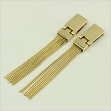 10pcs/lot new luggage hardware accessories wholesale high-end bag accessories tassel pendant