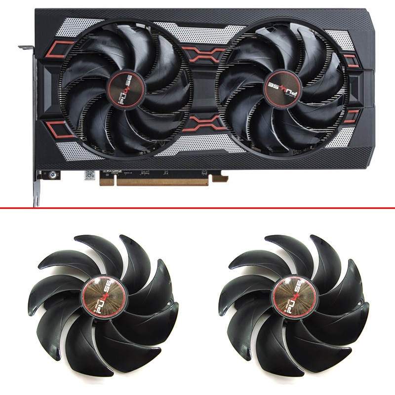 NEW 95MM 6PIN Double ball  FD10015M12D DC12V RX5700 XT GPU Cooler Fan Replace For Sapphire RX 5500 5600 5700XT PULSE Cooling Fan