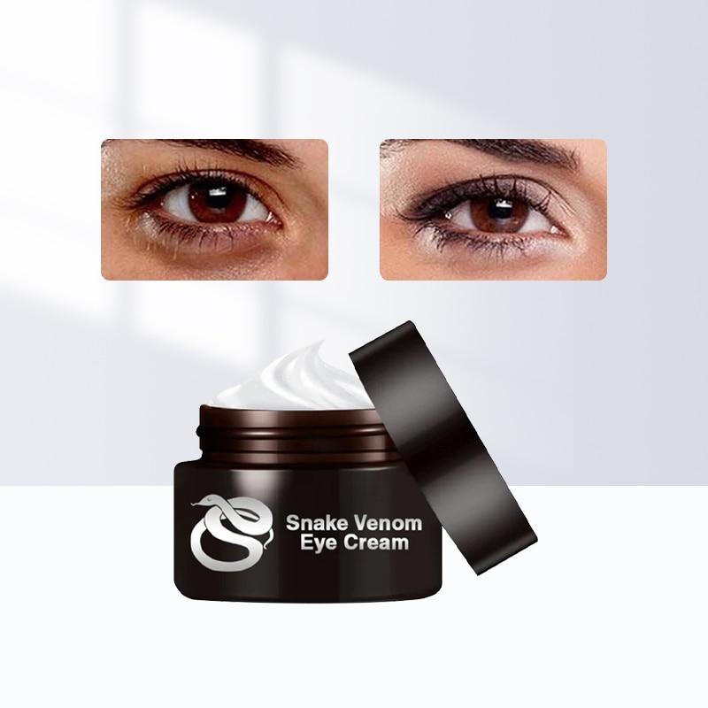 AliExpress - Snake Venom Eye Cream Dark Circle Eyes Bags Fat Granule Eye Care Essential Cream Anti-Aging Anti-Puffiness Moisturizing Eye Mask