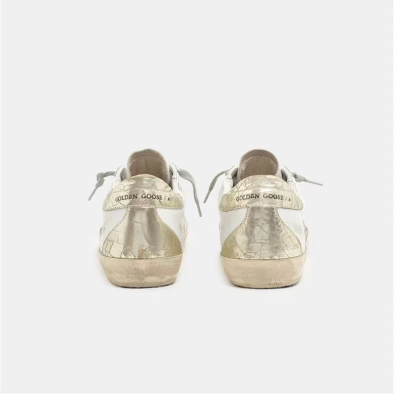 Parent-child Spring and Summer  First Layer Cowhide Vintage Old Small Dirty Shoes Golden Tail Casual Fashion Kids Sneakers QZ12 enlarge