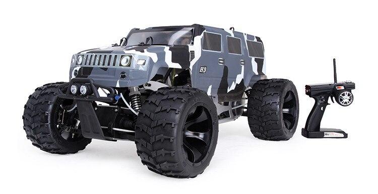 BM305 Monster Truck 4WD Whit 30.5cc motor para coches de carreras a escala 1/5 Rc
