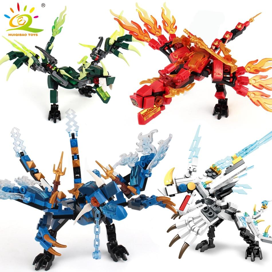 115 Uds. Dragón Ninja Knight modelo de bloques de construcción compatibles KAI JAY ZANE figuras ladrillos juguetes para niños chicos amigos