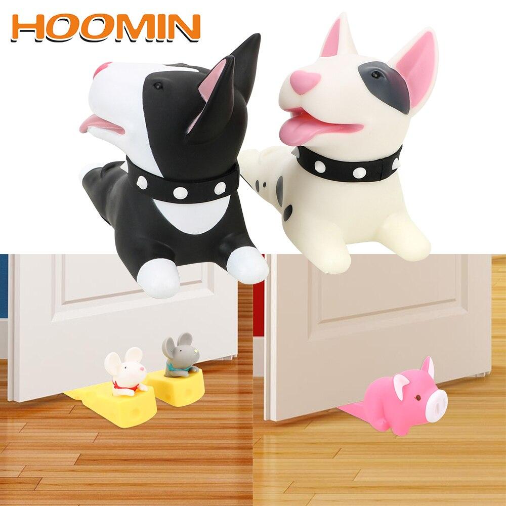 Tapón de puerta de dibujos animados HOOMIN, productos para el hogar, almohadilla protectora creativa, protección infantil