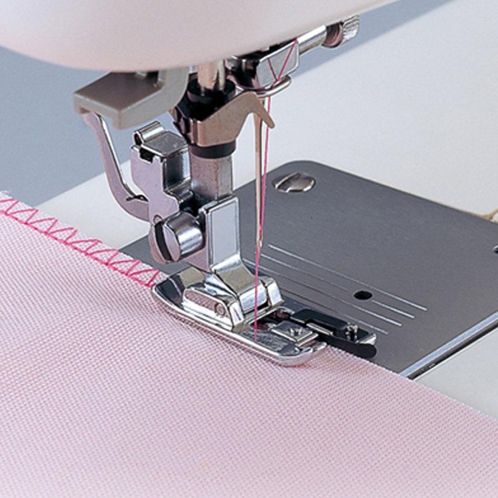 Máquina de costura overlock vertical presser pés-overedge overcasting presser doméstico laminado costura hem pé ferramenta equipamento de costura