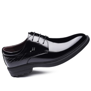 New Mens Shoes Casual Leather Oxford Pu Leather Formal Shoes Evening Dresses Evening Party Classic Wedding Shoes Chaussure Homme