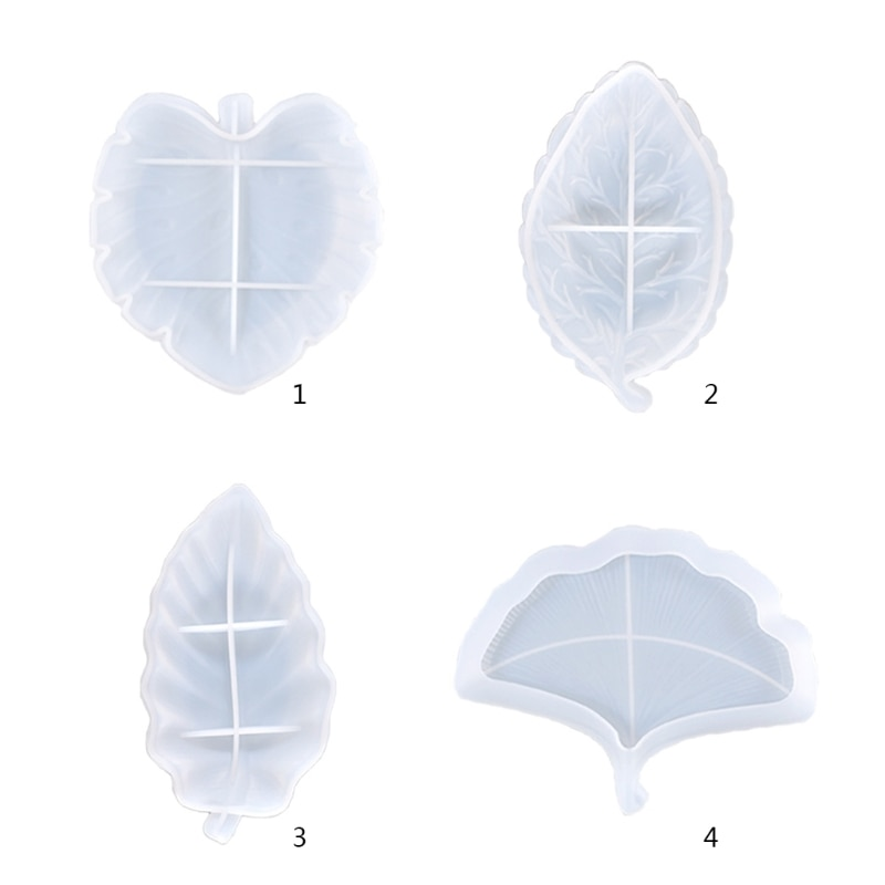 Лист формы Органайзер блюдо-форма для литья под давлением для хранения лоток литья силиконовая форма «сделай сам» ремесел шкатулка брелок ...