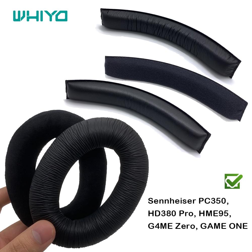 Wyyo-طوق رأس بديل لـ Sennheiser ، لـ PC350 ، HD380 Pro ، HME95 ، G4ME ، Zero GAME ، غطاء وسادة