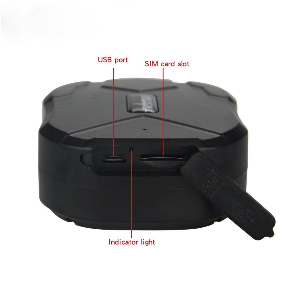 10000mAh New GPS tracker car  Waterproof Car GPS Tracker Magnet Vehicle localizador gps tkstar gps moto TK905B PK TK905 enlarge