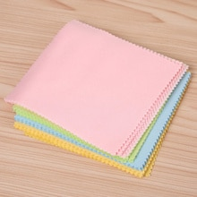 10 Pcs Portable Glasses Eyeglass Sunglasses Microfiber Cleaner Cloth Clothes Computer Cleaning Cloth