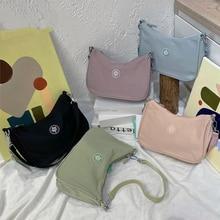 Women's Shoulder Bag Canvas Small Handbag for Women Sweet Printed Bags Female  Crossbody Money Bag S