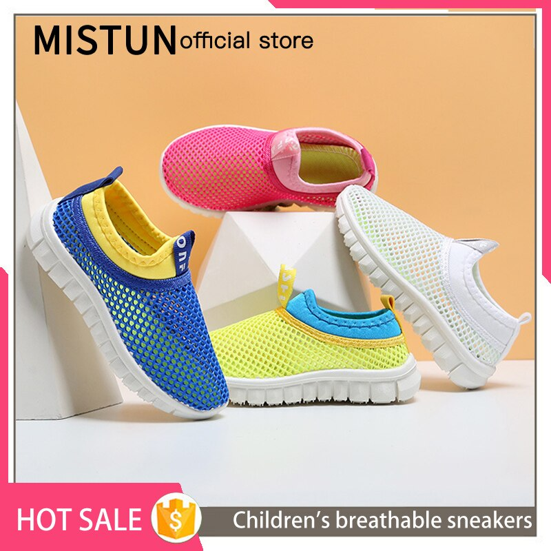 Children's breathable net shoes 2021 hot sale boys and girls sports shoes casual children's shoes no