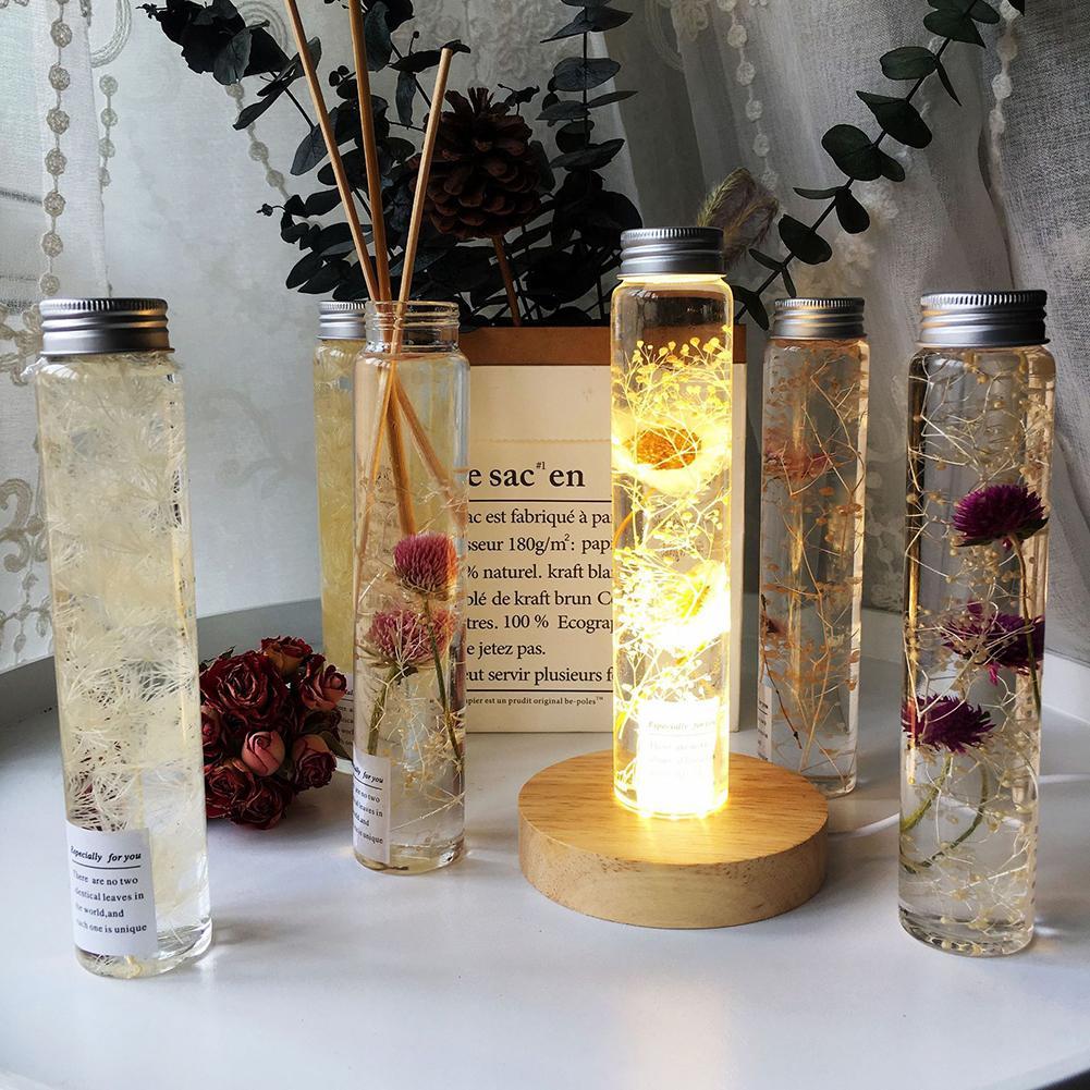 Fleur de Gomphrena artificielle   Offre spéciale, herbier, bouteille dhuile, décoration artisanale de la maison