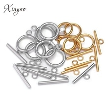 4 ensembles couleur or attache Bracelet à bascule fermoir boucle connecteur pour la fabrication de bijoux OT fermoirs bricolage accessoires en gros
