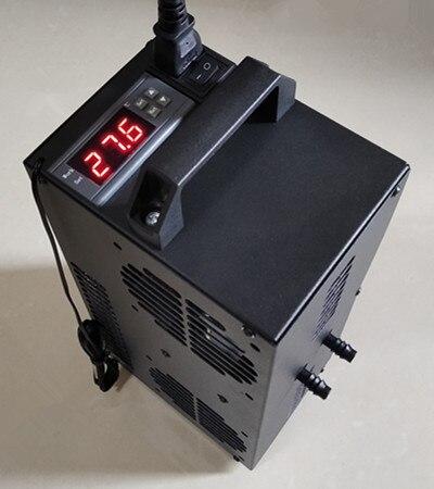 Temperatura constante ajustable, Semiconductor, pequeño y Micro enfriador, acuario, tanque de peces de 50 litros, Enfriador de agua circulante