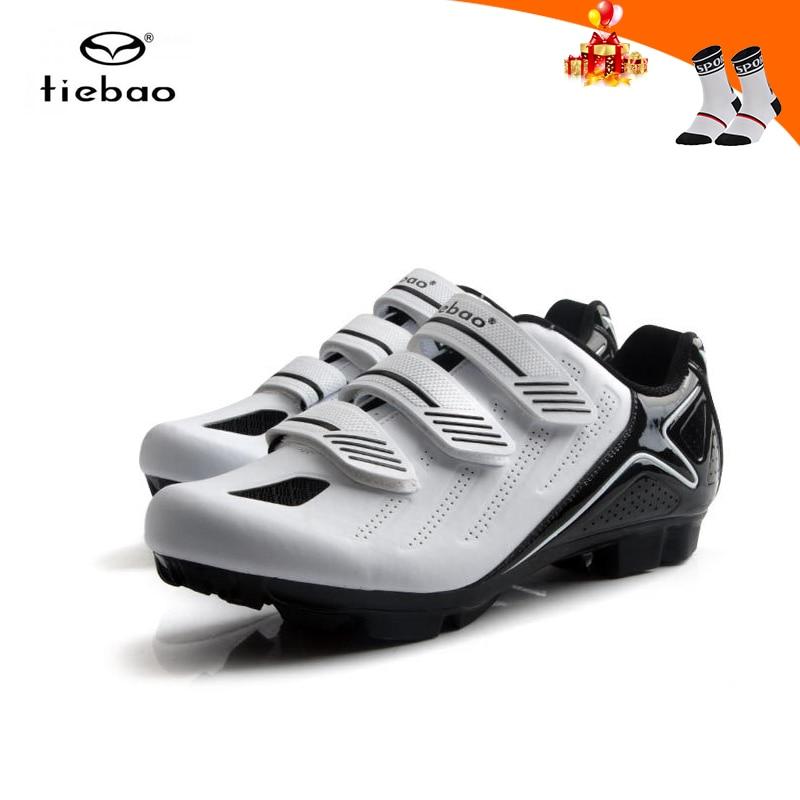 Zapatos para ciclismo de montaña Tiebao, zapatillas para hombre, zapatillas transpirables para ciclismo mtb SPD