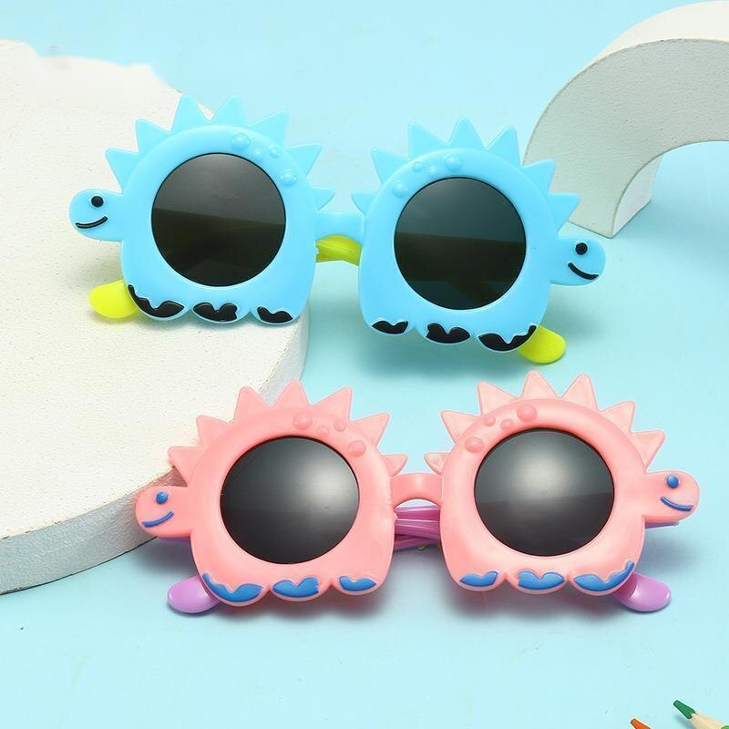 Fashion Cartoon Sun Flower Sunglasses For Children Boys Girls  Ourdoor Child  Glasses With UV400 Pro