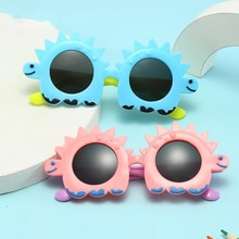 Fashion Cartoon Sun Flower Sunglasses For Children Boys Girls  Ourdoor Child  Glasses With UV400 Pro