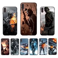 soft phone case fo iphone xr x 11 pro xs max 7 8 6s 6 plus 10 12 mini cover battlefield fighting soldier shell unique tpu coque