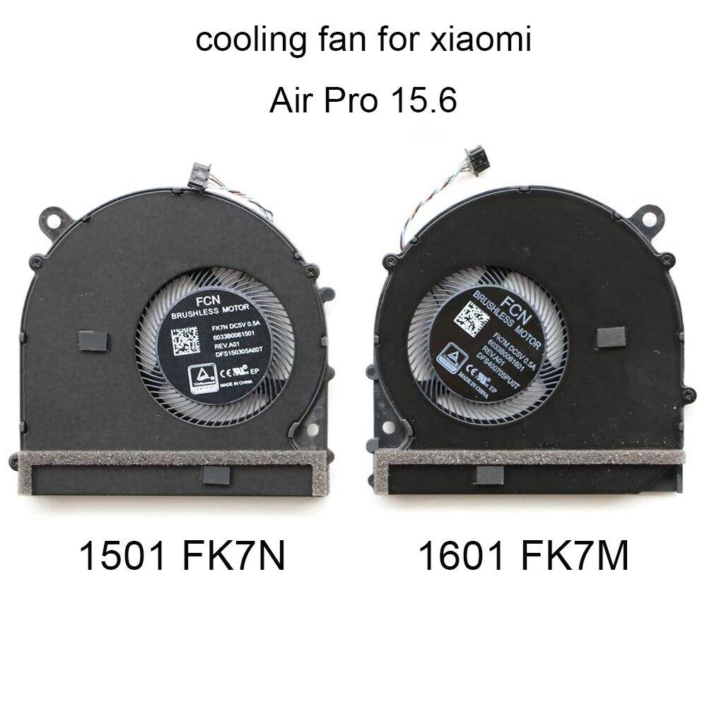 وحدة المعالجة المركزية مروحة التبريد الكمبيوتر المحمول ل شاومي برو الهواء 15.6 FK7N FK7M 6033B0061601 1501 الكمبيوتر وحدة معالجة الرسومات بطاقة برودة الم...